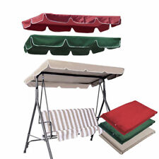 """Patio Outdoor Garden Swing 300D Canopy Replacement Porch Top Cover Seat 66""""x45"""""""