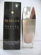 Guerlain Parure Pearly White Rose Clair#12-Parure Aqua Rose Naturel #13 30ML NIB