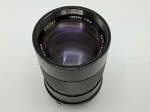 Vivitar 135mm F2.8 Telephoto Prime Lens for Minolta MD Mount SLR Cameras