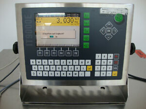 Systec IT9000E Plattformwaage inklusive Wägebrücke
