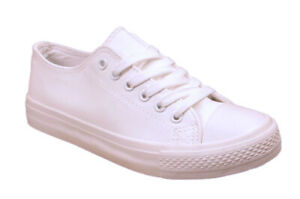 LADIES SKATER SHOES LACE UP TENNIS WOMENS PLIMSOLLS SNEAKERS TRAINERS