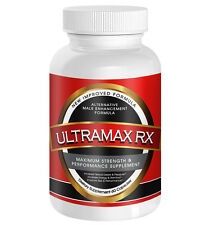 ULTRAMAX RX #1 Male Enhancement Pills Penis Enlargement for Huge Size Growth