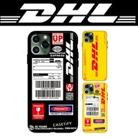 DHL World Express Hard Cover Case For iPhone SE X XS iPhone XR iPhone 11 Pro Max