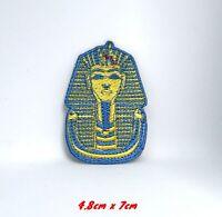 King Tut Tutankhamun Iron Sew on Embroidered Patch #635