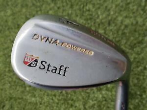 Wilson Staff Dyna-Powered Forged 60* Lob Wedge RH Fat Shaft Steel (RR4081)