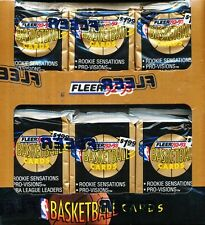 1992-93 FLEER SERIES 1 JUMBO BASKETBALL SEALED BOX
