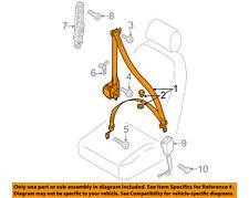 VW VOLKSWAGEN OEM 2012 Passat Front Seat Belt-Assy Right 561857706CUHQ
