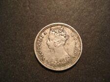 1889-H  Hong Kong 10 Cents