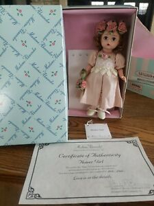 "1999 Madame Alexander 8"" Alexander-kin Flower Girl Doll MIB #22620"