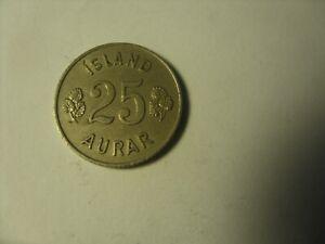 25  AURAR 1946  ICELAND