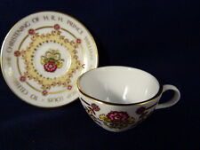Spode China Porcelain Mini Cup & Saucer Commemorative Prince William Christening