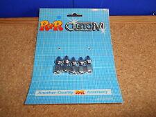 Quality R+R Custom Universal Chromed Pike Nuts 7mm (pack of 5) 28mm Long Bc38287