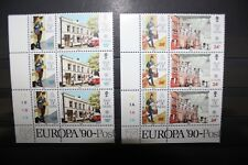 "FRANCOBOLLI STAMPS ISLE OF MAN 1990 ""EUROPA CEPT"" MNH** SET (CAT.5A)"