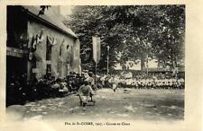 FETE DE ST COSME - 1907 Course en chars