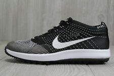 40 Mens Nike Flyknit Racer Golf Shoes Oreo White Zoom Retro 8.5 - 12 909756-001