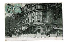 CPA-Carte Postale FRANCE Paris- Théâtre du Vaudeville et des Italiens en 1905