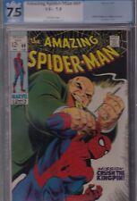 Amazing Spider-Man #69 Pgx 7.5 Vf- Feb 1969 Marvel - the Kingpin Stan Lee story