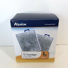 Aqueon QuietFlow Replacement Filter Cartridge Large OPEN BOX (10 new filters)