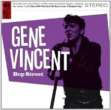 Gene Vincent Bop Street CD NEW Rock & Roll Be Bop A Lula/Race With The Devil+