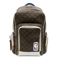 LOUIS VUITTON LV NBA Backpack NV Rucksack Backpack M45581 Monogram Macassar PVC
