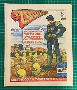 Bagged & Boarded 2000 AD Comic Prog 18 - 25 Jun 1977 - Ref 2K162