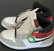 Size 10 - AUTHENTIC Jordan 1 Retro High Light Smoke Grey 2020 SHIPS TODAY