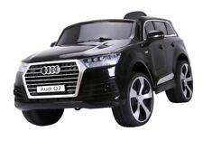 Kinderfahrzeug Elektro Auto Audi Q7 S-Line lizenziert Ledersitz Radio MP3 Licht