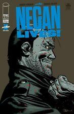 NEGAN LIVES #1 WALKING DEAD 2ND PRINT  IMAGE COMICS 2020 NM