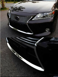 Fit For LEXUS ES250 ES300 ES350h 2013-2015 New Front Bumper Dow Decorative Trim
