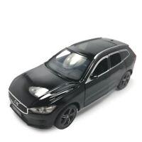 1/32 XC60 2019 SUV Metall Die Cast Modellauto Schwarz Spielzeug Sammlung