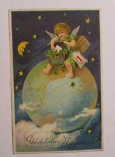 """""""Neujahr, Engel, Mond, Sterne, Globus""""  1928 ♥  (40341)"""