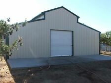 Steel Metal American Barn prefab building kit workshop shed garage storage
