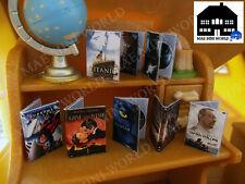 Epoch Sylvanian scale. DVD boxes. Artisan handmade.