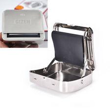 Metal Automatic Cigarette Tobacco Roll Roller Machine Box Case Cover Gift 70mm