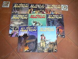 LES AILES DU PHAETON  DU TOME 1 AU TOME 8 EDITIONS SOLEIL BE