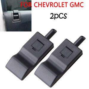 2x Ebony Black Door Lock Knob For Chevy Tahoe GMC Yukon 2007-2014 15844616