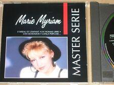 CD RARE / MARIE MYRIAM / MASTER SERIE / AVEC DEDICACE / TRES BON ETAT