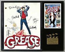 "GREASE LTD Edition Reproduction Signed Movie Script Display ""C3"""