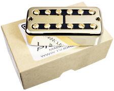 TV Jones Power'Tron PLUS Guitar Bridge Pickup, GOLD Universal Mount, Powertron