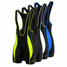 FDX Mens Quality Cycling Bib Shorts  Coolmax? Padding  Cycle Tight Shorts
