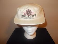 VTG-1980s Jacob Best Light Beer lightweight promo painters style hat sku11