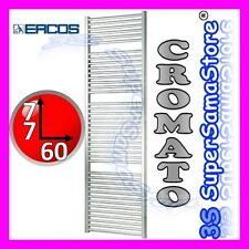 3S NUOVO SCALDASALVIETTE TERMOARREDO CROMATO RADIATORE SCALDA BAGNO H 77 x L 60