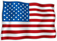 sticker stickers decal vinyl decals national flag car USA AMERICAN AMERICA
