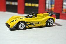 Hot Wheels Loose - Ferrari 333 SP - Yellow w/ Flames - 1:64