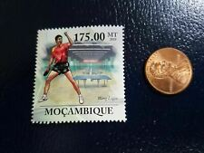 New listing Wang Liqin Table Tennis Ping Pong Olympics 2010 Mocambique Perforated Stamp (b)