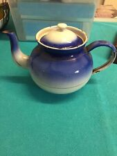 Old Enamel Teapot