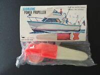 Motore Submarine Power Propeller barchette barche giocattolo vintage anni 80