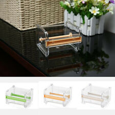 Desktop Tape Dispenser Masking Tape Cutter Roll Tape Holder Organizer Storage