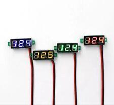 Led Digital Display Voltmeter Car Motorcycle Voltage Gauge Panel Meter 5v To 30v