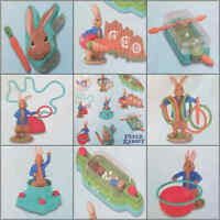 McDonalds Happy Meal Toy 2018 UK Peter Rabbit Character Figures - Various Toys